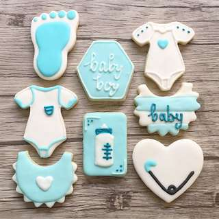 Baby shower / Christening Sugar cookies