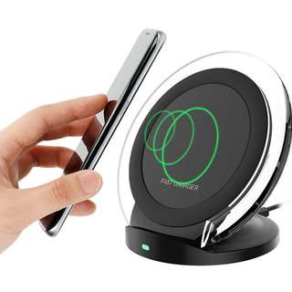 快速充電無線充電座Qi 快速充電無線充電座