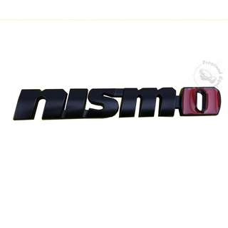 ACCESSORIES 3D BLACK (NISMO) EMBLEM DECAL BADGE STICKER