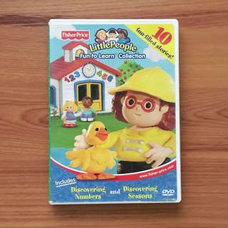 Fisher Price Little People: Fun to Learn DVD