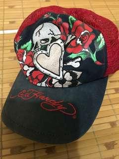 🚚 Ed hardy 刺繍網帽