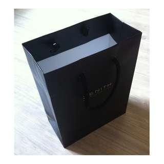 (半價) ZENITH small size Paper Shopping Gift Bag 紙袋 禮物袋 (Half Price)