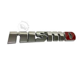 ACCESSORIES 3D ALUMINIUM CHROME (NISMO) EMBLEM DECAL BADGE STICKER