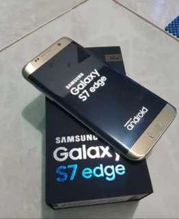 Samsung s7 edge second kondisi 95% ORI fullset