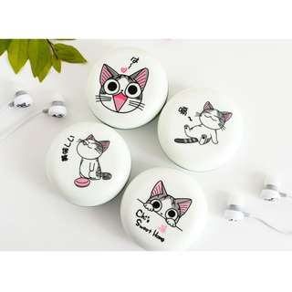 Kitten Earphone + Casing