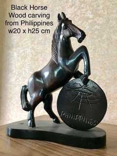 Wood Carving - Horse