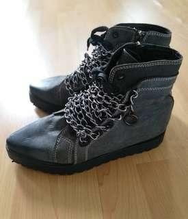 Alexander Wang chain boots