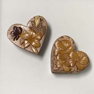 Japanese Puzzle Jewellery Box - Heart Design (2 designs available)