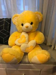 Big Yellow Teddy Bear