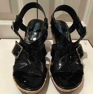 Kensie Girl Women's Strappy Wedge Size 6 (Authentic)