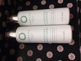 Onesta beautiful hair hydrating shampoo and conditioner