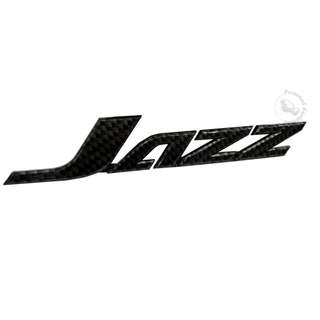 ACCESSORIES 3D CARBON (JAZZ) EMBLEM DECAL BADGE STICKER