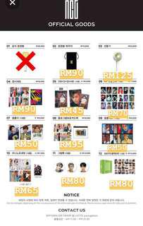 [GO] NCT OFFICIAL GOODS 2018
