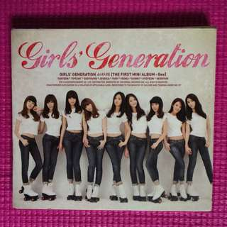 1st & 2nd mini album Girls' Generation