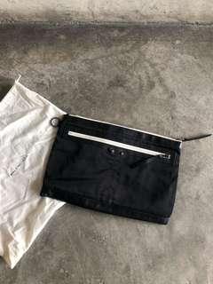 Balenciaga nylon calfskin classic