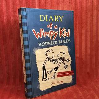 Diary of a Wimpy Kid: Rodrick Rules (Paperback)