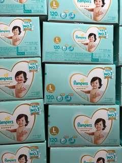 Pampers Japan L Tape 9-14kg 40 PCS