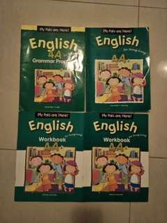 小學四年級 英文書 (舊書/舊作業)