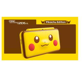 New Nintendo 2DS XL ( Pikachu Edtition )