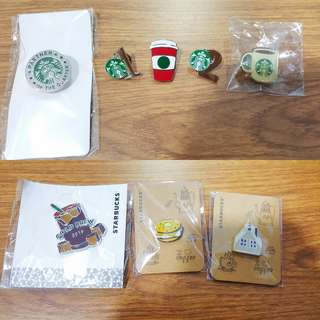 Authenticate Starbucks Loose Pin