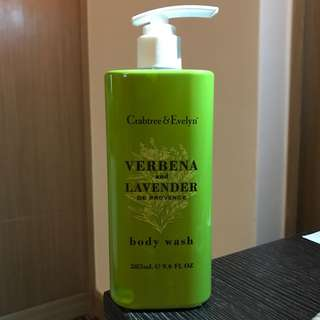 Crabtree & Evelyn Verbena and Lavender Body Wash