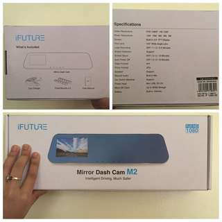 Mirror Dashcam M2 by iFUTURE