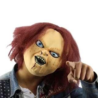 Topeng Cosplay Halloween Chucky