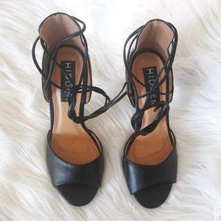 Laceup Stiletto Heels US 6