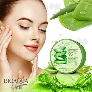 Bioaqua aloe vera untuk menghaluskan wajah dan rambut berat 220gr