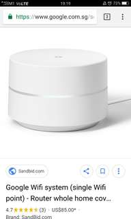 Google Wi-Fi single unit