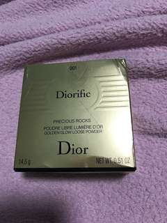 Diorific Golden Glow Loose Powder #001 14.5g