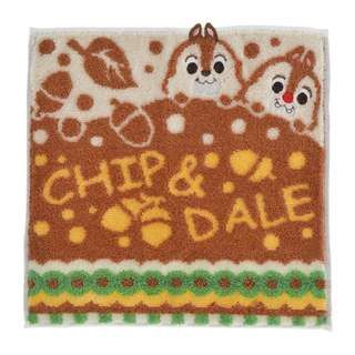 ONEFOUR8 日本連線(日本代購) - DISNEY迪士尼CHIP & DALE方形毛巾