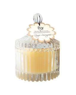 BRAND NEW Barn and Potter Beeswax Lemongrass Candle (100g) for aromatherapy