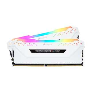 Corsair VENGEANCE RGB PRO 16GB (2 x 8GB) DDR4 DRAM 2666MHz C16 Memory Kit — Black or White