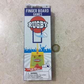Rugby Finger Board Games