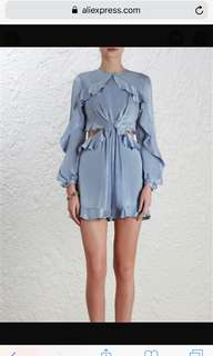 Zimmermann Winsome Flutter Playsuit - REPLICA