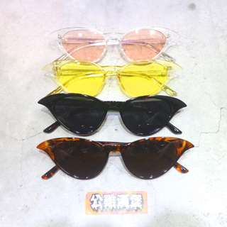 「90S 辣妹 辣弟 歐美 韓國 眼鏡 墨鏡 太陽眼鏡 復古 @公雞漢堡」