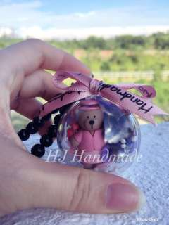 4cm Starbuck Bear Crystal Ball