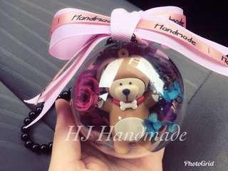 Doggy Bear Crystal Ball