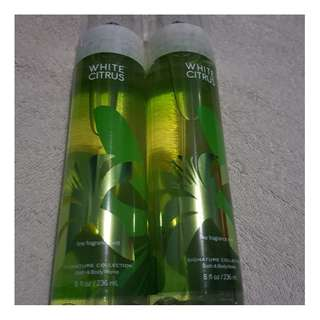 Bath and Body works white citrus 236 ml