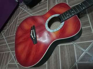 Defect Old Guitar