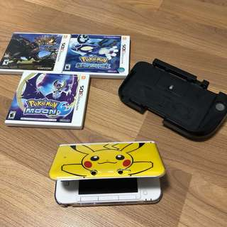 Excellent Condition Nintendo 3DS XL Pikachu Limited Edition