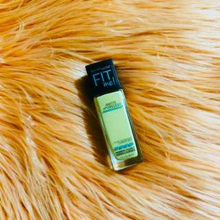 Maybelline Fit Me Foundation (shade: Warm Nude)