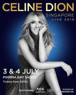 Celine Dion 03/07 3rd July MBS Concert
