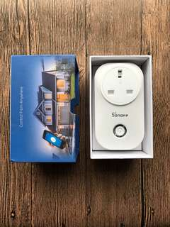 Sonoff smart plug