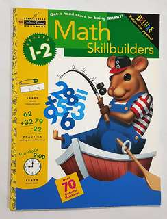 Math Skillbuilders (Grades 1-2) Step Ahead Workbook