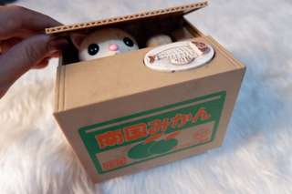 Talking Cat Coin Bank