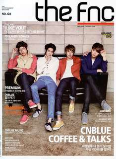 FNC Magazine No. 02 'Coffee Talk' (CNBLUE)