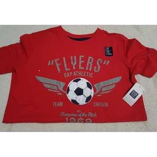 Gap red t-shirt 4-5Y