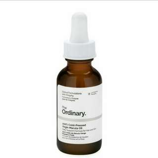 BN Instock 100% Cold-Pressed Virgin Marula Oil 30ml / 1 fl oz The Ordinary by The Abnormal Company